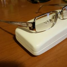 c291b9affc08 Gold versace glasses frame Used. Glasses and case. No cloth Versace  Accessories Glasses Versace