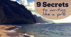 9 Secrets to Writing Like a Pro - Facebook