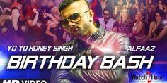 Baby Baby Ka Hai Birthday Bash Lyrics from Honey Singh in Dilliwaali Zaalim Girlfriend. This party song is sung by Yo Yo Honey Singh. New Latest Song, Latest Song Lyrics, Happy Birthday Song Mp3, Birthday Bash, Yo Yo Honey Singh, Bollywood Movie Songs, Hindi Movie Song, Mp3 Song, Music Songs