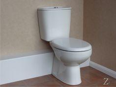 L Profile Radius Corner Pipe Casings enclosing WC Soil pipe.