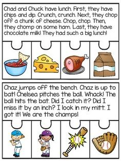 Digraphs Fluency and Sequencing Puzzles that make reading digraphs fun! Students read the story and put the events of the story in order to complete each puzzle! Great fluency, reading comprehension, and sequencing practice!