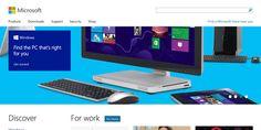 Innovative examples of flat design websites