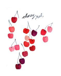 Cherry Red by miss Capricho, via Flickr