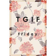 Friday, viernes, weekend, TGIF