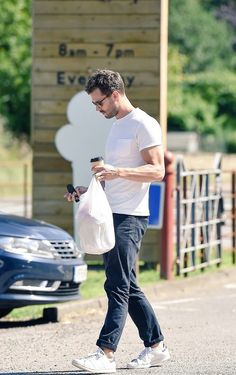 Jamie out in The Cotswolds