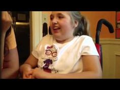 ALgS to Music with Kate Ahern - student using a Tobii with eye gaze - YouTube