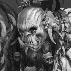 The Art of Warcraft Film - Killrog Deadeye, Wei Wang on ArtStation at https://www.artstation.com/artwork/XzQma