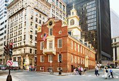 boston massachusetts | The Old State House , Boston, Massachusetts, USA wallpapers