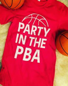 """It's a PARTY IN THE PBA!!"""" #nebrasketball #Nebraska #huskers #basketball $20"""