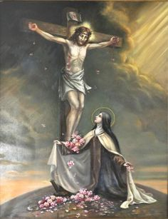 ordocarmelitarum:  Today (24 September) we may begin the Novena to St.Thérèse of the Child Jesus and the Holy Face for 3 October (Traditional Feast) Novena Prayer: O Blessed Little Flower of Jesus, thou didst desire upon earth to live for Jesus alone, to suffer for His sake, to make Him better known and loved by all men. Now that thou rejoicest in the everlasting vision of that Holy Face, continue to send upon the World a shower of roses, the sweetness of whose perfume will draw all souls…