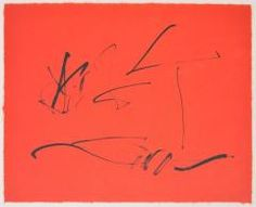 Robert Motherwell Lithograph - He was one of the founders and principal exponents of Abstract Expressionism