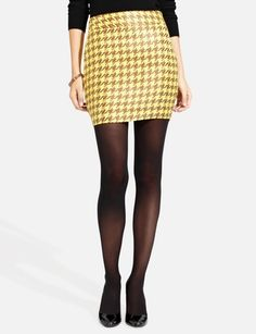 Curved Pocket Mini Skirt from THELIMITED.com
