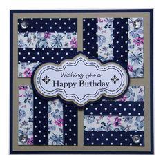 Handmade Birthday Card £1.80