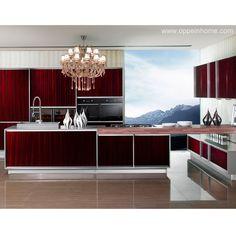 Custom Bathroom Vanities Penrith op14-m04: modern america project melamine kitchen cabinet | cocina