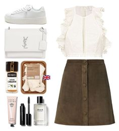 """""""5.445"""" by katrina-yeow ❤ liked on Polyvore featuring Zimmermann, Helmut Lang, Yves Saint Laurent and Bobbi Brown Cosmetics"""