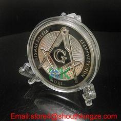 2016 Freemason Masonic Coin  #Aliexpress  #metalcraft #coin #Xmas #valentinesday #gift