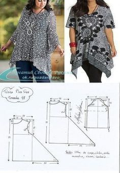 Sewing Class Love Sewing Sewing Patterns Free Sewing Tutorials Sewing Hacks Sewing Blouses Plus Size Sewing Blouse Patterns Clothing Patterns Tunic Sewing Patterns, Sewing Blouses, Tunic Pattern, Blouse Patterns, Blouse Designs, Clothing Patterns, Blouse Styles, Free Pattern, Make Your Own Clothes