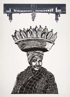Siyaya ePitoli I (2014) Linocut