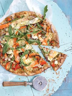 Vegetable and Pesto Pizza Get the recipe in Healthy Food Guide's free eBook. Download it here http://www.healthyfoodguide.com.au/healthy-food-guides-all-time-favourite-recipes