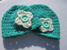 Crochet Baby Hats for Big Sister and Little by crochetedbycharlene, $32.00