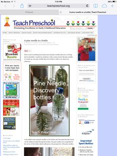 Tree science, can use a variety of tree branches.