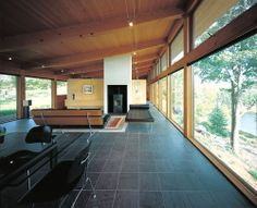 Salmela Architect - Ryan retreat, Mellen WI. Photos (C) Peter...