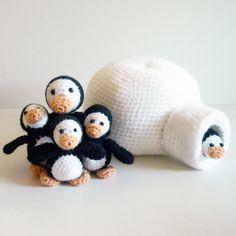 Penguin Family Amigurumi Pattern