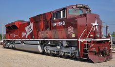 mkt locomotive - Google Search Union Pacific Train, Union Pacific Railroad, New Engine, Steam Engine, Gandy Dancer, Road Train, Rail Car, Train Pictures, Train Engines