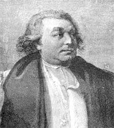 SAMUEL SEABURY  BISHOP (14 NOV 1784)   (BESTOWAL OF THE AMERICAN EPISCOPATE)