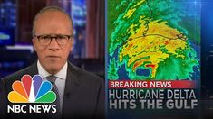 Hurricane Delta was a Category 4 tropical cyclone that disintegrated over Mississippi in the United States, after impacting Puerto Morelos and the other Yucatan Peninsula in Mexico, Jamaica, the Cayman Islands, western Cuba, Florida, among others. Nbc Nightly News, Nbc News, Mississippi, Category 4, October, Puerto Morelos, Youtube, Cayman Islands, Jamaica