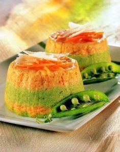 Sformato di carote e piselli - Cucina Naturale