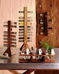 spice storage + display Pucon Chile
