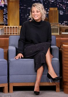 'I was so hungry' Kaley Cuoco-Sweeting discussed the strict diet she endured to stay fit for her stunning Shape magazine cover as she appeared on The Tonight Show Starring Jimmy Fallon on Thursday