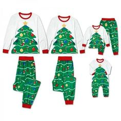 598ea7e03a Holiday Matching PJ  O Christmas Tree O Christmas Tree – Monday Munchkin Matching  Pajamas