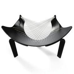 Peter Karpf Wing Chair
