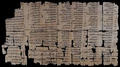 The Egyptian 'Dream Book' is preserved in the form of a papyrus with a hieratic script. This papyrus was found in the ancient Egyptian workers' village of Deir el-Medina, near the Valley of the Kings. This papyrus has been dated to the early reign of Ramesses II (1279-1213 B.C.). Each page of the papyrus begins with a vertical column of hieratic signs which translates as 'If a man sees himself in a dream'.