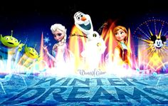 Disney is Officially adding 'Frozen' Characters to World Of Color at Disneyland  this coming Winter! ♡
