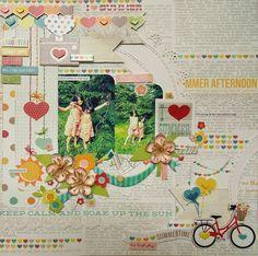I HEART Summer (scrap-utopia) - Scrapbook.com