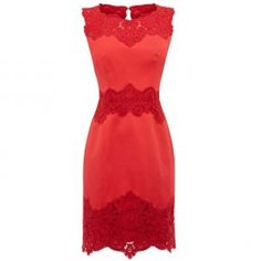 Red lace dress LINK in this one!
