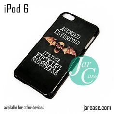 Avenged Sevenfold Quotes 2 iPod Case For iPod 5 and iPod 6
