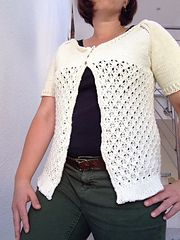 Ravelry: Sea Glass Cardi pattern by Ela Torrente