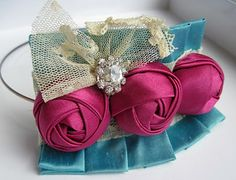 Fabric Flower Tutorial- Kennedy Rose Couture Flower PDF Pattern Released!!