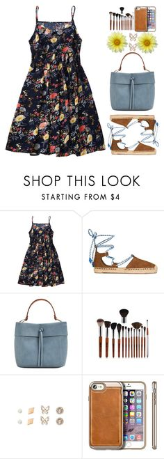 """""""Mother's Day Brunch Goals"""" by justkejti ❤ liked on Polyvore featuring Tory Burch, MANGO, floraldress, zaful and brunchgoals"""