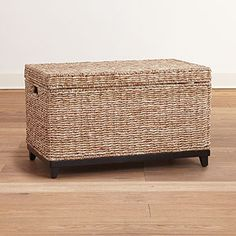 Tyler Seagrass Trunk, World Market $139.99; Can Use It To Pack Breakables,  Then Unpack And Use As Spare Seating With Hidden Storage In The New Home!