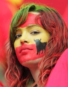 Spain fan - FIFA World Cup 2014 Brasil