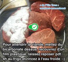 L'Astuce de Chef Pour Attendrir Votre Viande Facilement Avec Du Bicarbonate.