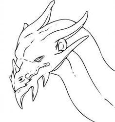 Pin By Rick Simon On Dragons Drawings Dragon Dragon Head Drawing