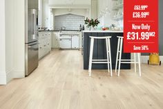 Home Choice Engineered European Oak Flooring Cappuccino Wood Flooring Uk, Real Wood Floors, Engineered Wood Floors, Kitchen Extension Semi Detached, Wal, Contemporary Interior, Living Room Designs, Rustic, Grande