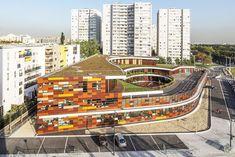 Школьный и досуговый центр в Париже, Франция. MIKOU DESIGN STUDIO, 2012