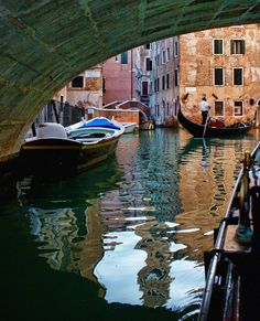 Venice, Italy Travel Videos, Venice Italy, My Favorite Color, Italy Travel, National Geographic, Boats, Spaces, History, Country